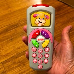 Fisher-Price Laugh & Learn Sis' Remote Toy